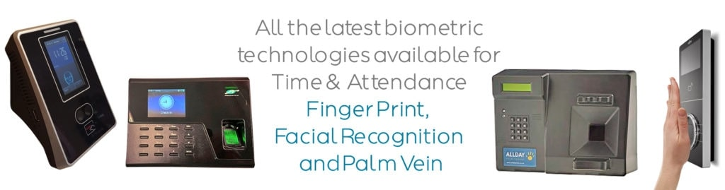 Biometric-Time-Attendance-Terminals-Finger-Print-Facial-Recognition-and-Palm-Vein