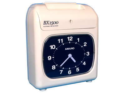 Amano BX1500 Time recorder Clock
