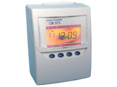 Seiko QR-375 QR-395 Time Recorder